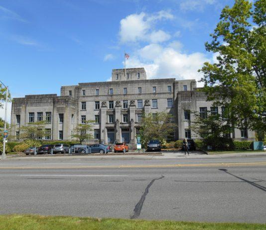 Thurston County Courthouse today