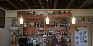 Wishkah River Distillery Owner Josh Mayr in Wishkah River Distillery Tasting Room