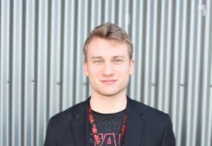 Yelm Cinemas General Manager Noah Adens
