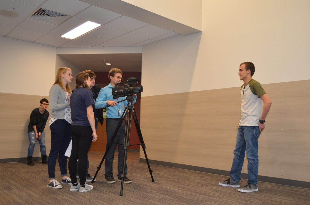 black hills high school iVideo students