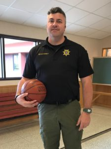 BBBS Bigs with Badges Sgt Cassidy Basketball