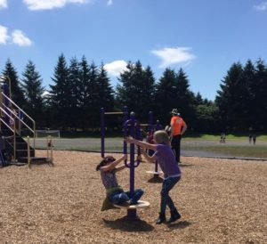 City of Lacey Playground Pals & Free Summer Lunch playground