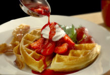 Izzys Pizza & Buffet Waffles