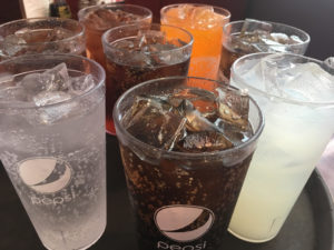 L and E Super Buffet Beverages