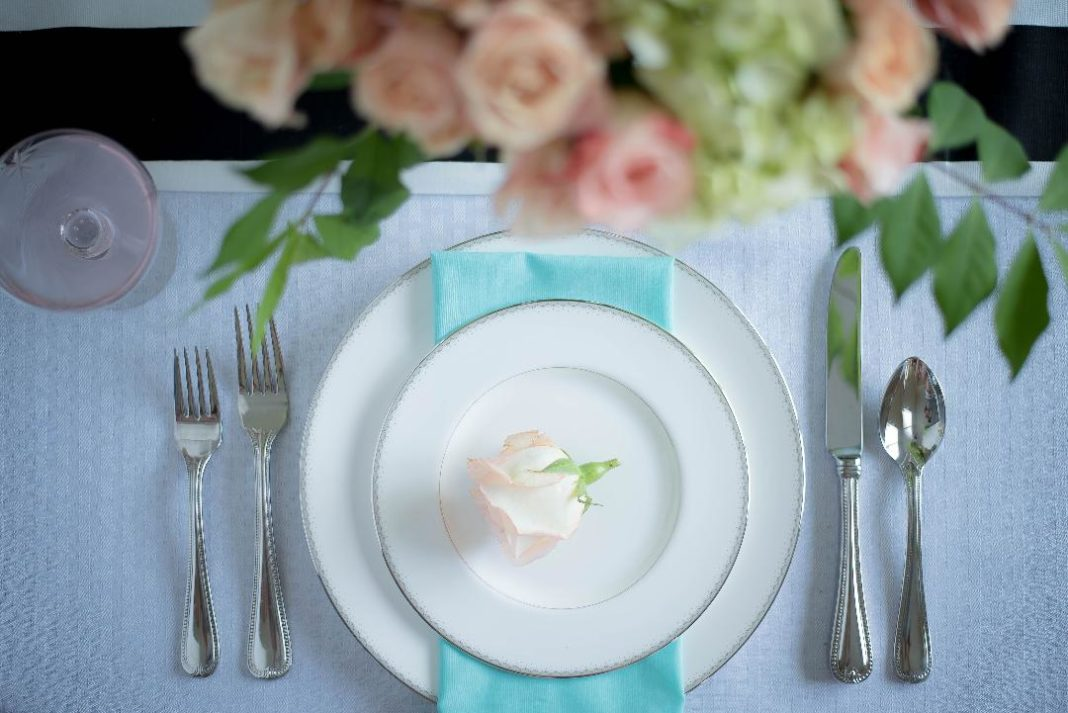 Oly Events Wedding Table Setting
