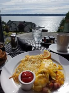 Olympia Country and Golf Club summer brunch
