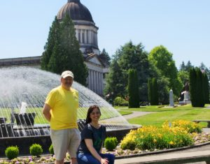 Olympia Symphony Orchestra Huw and Jenn at Capitol