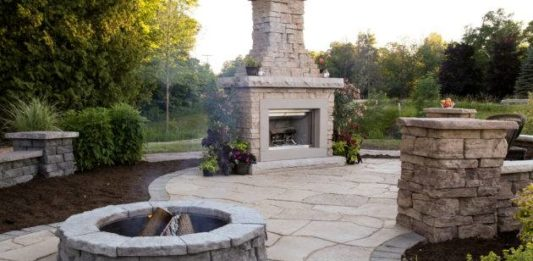 Professional Stone Products Outdoor Fire Pit