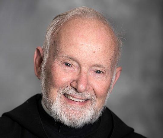 Saint Martins University Abbot Neal portrait