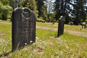 Forest Grove Cemetery Tenino, WA