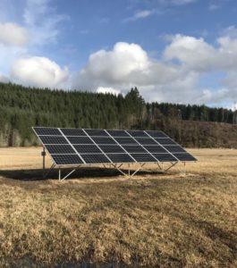 South Sound Solar panels