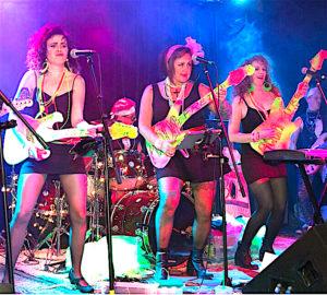 The Aqua-Nets Performing