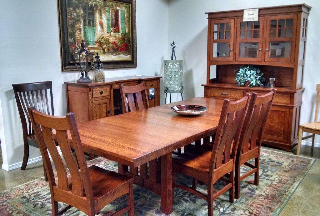 Woodshed Furniture Dining Room