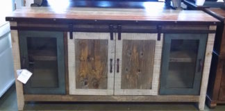 Woodshed Furniture Sidetable