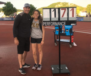 Lauren Wilson with Dad