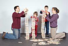 Child Care Action Council Build Off Keva blocks