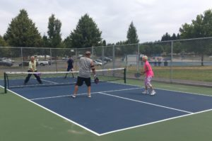 City of Lacey Parks Pickball popular