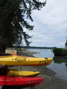 Evergreen TOP kayak launch