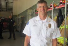 Lacey District 3 Fire Chief Steve Brooks