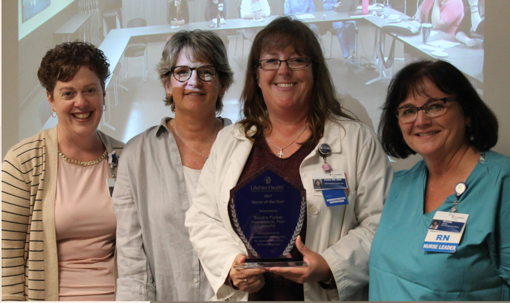 LifeNet recognition Providence Health & Services
