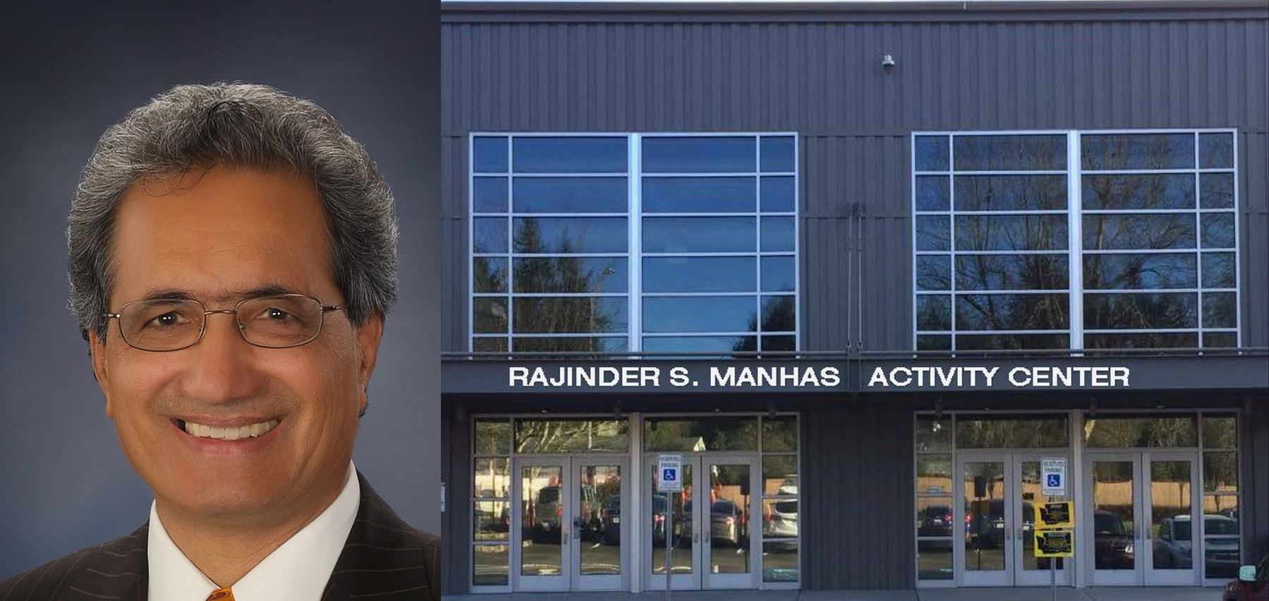 School Board to Honor Manhas at Ribbon-Cutting Ceremony