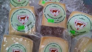 Olympia Farmers Market Cheese Rosecrest Swiss