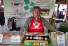 Olympia Farmers Market Cheese Rosecrest Vending