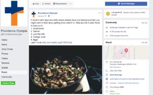 Providence Facebook