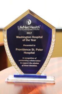 Providence St Peter Award