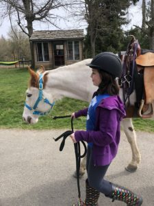 Rainy Day Ranch Therapeutic Riding Olympia child and horse