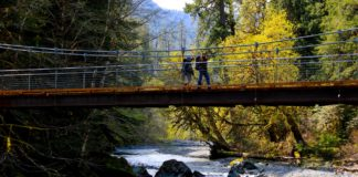 Staircase Loop Bridge