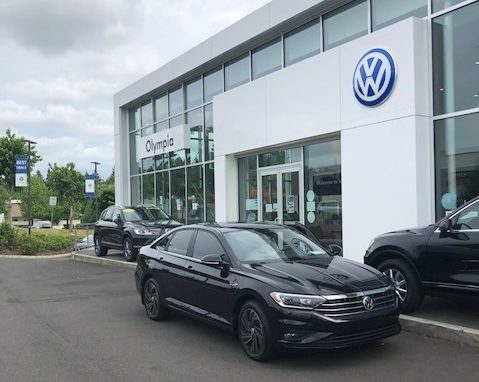 take a ride in the redesigned 2019 jetta at volkswagen of olympia