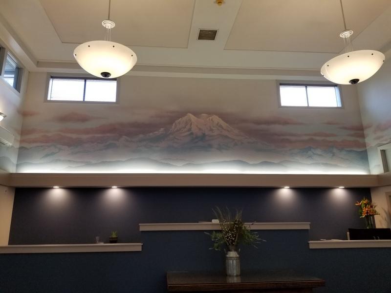 Yelm Chamber mural