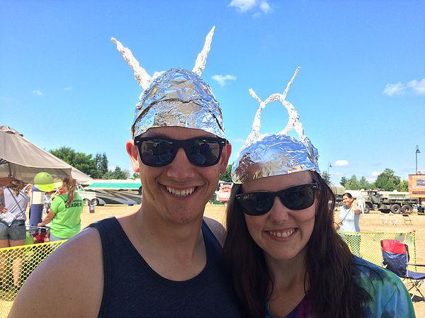 Yelm UFO Fest 2018 Foil Hats