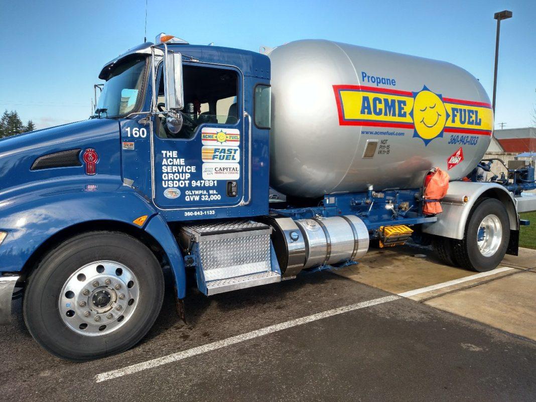 Acme Truck Propane Blue