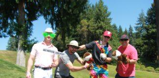 BIG Swing Golf Tournament Team Photo