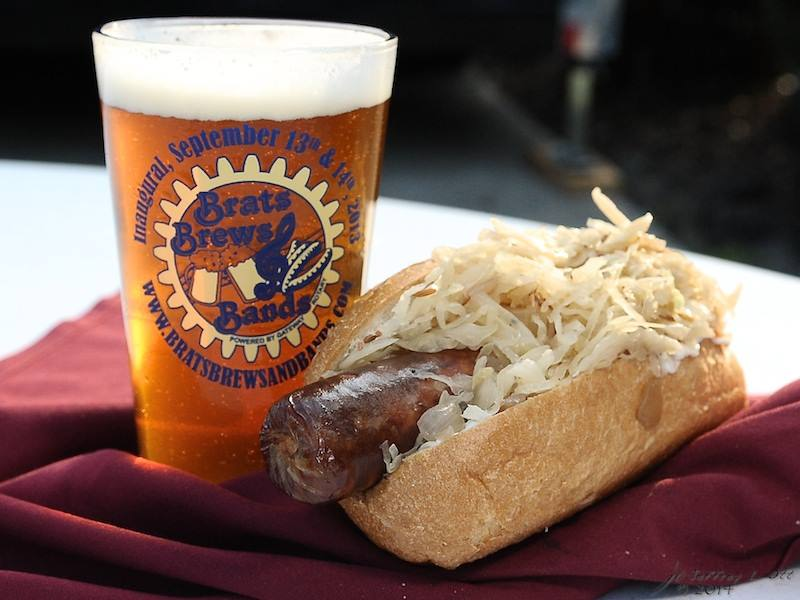 Brats Brews and Bands 2018 Beer and Brat