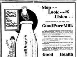 Capital City Creamery milk ad
