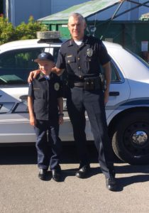 Dusty Pierpoint Lacey Police Cheif Kids