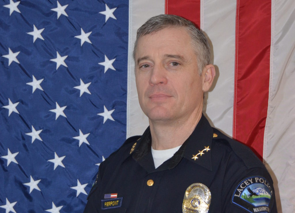 People in Public Service: Lacey Police Chief Dusty ...