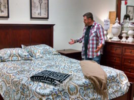 Questions about mattresses, bedroom sets or anything else? Just ask Eddie. Photo credit: Mary Ellen Psaltis