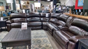 The Olympia Furniture Company sectional
