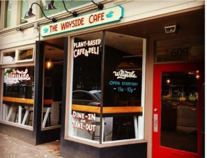 Wayside Cafe and Deli shopfront