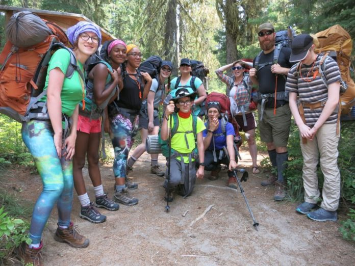 Wild Grief wilderness teen trek