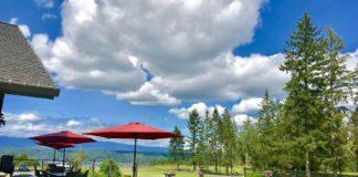 Alderbrook Golf and Yacht Club Scenery