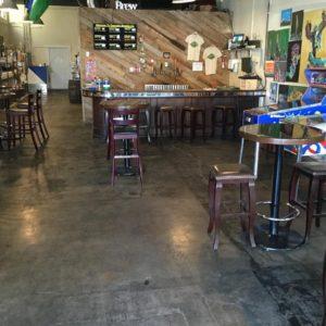 Cascadia Brewing Company Inside