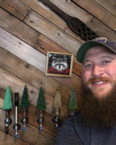Cascadia Brewing Company Tim Sexton at Bar