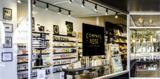 Compass Rose anniversary-olympia storefront