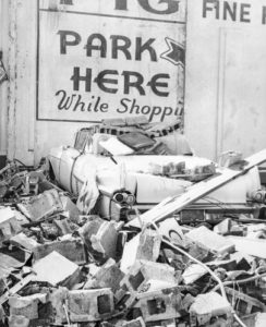John Dodge A Deadly Wind Crushed car in Portland 1962 Columbus Day Storm