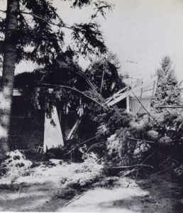 John Dodge A Deadly Wind Friends Home Where Dodge Stayed 1962 Storm